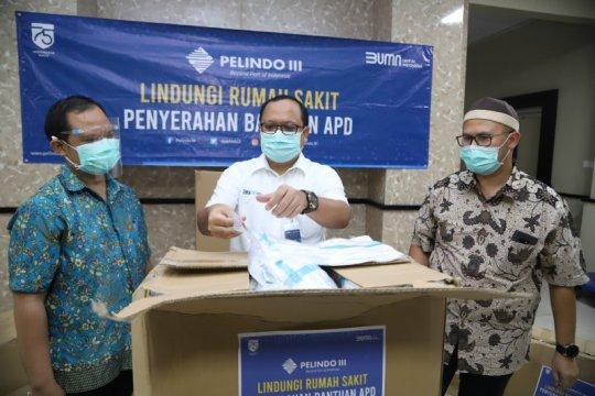 Pelindo III bantu 12 ribu hazmat ke tujuh RS di Jatim