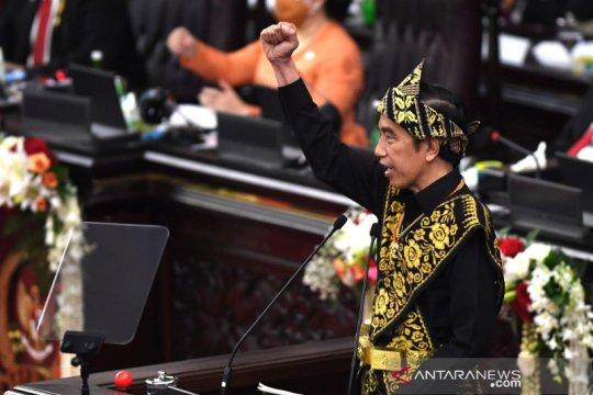 Presiden Jokowi: Bangsa Indonesia beruntung junjung tinggi kebersamaan