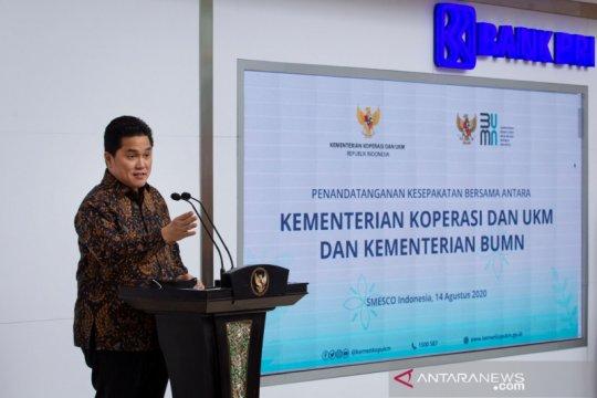 Erick: Pembangunan Pelabuhan Teluk Benoa dorong pariwisata maritim