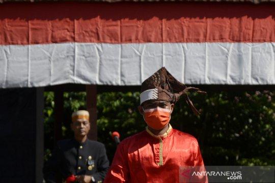 Upacara kemerdekaan RI di kerajaan Bajeng Gowa