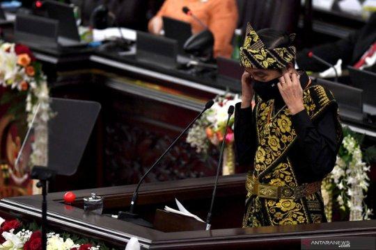 Presiden apresiasi kinerja BPK, MA, MK dan KY