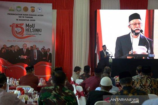 Wali Nanggroe Aceh berharap pemerintah pusat tuntaskan MoU Helsinki