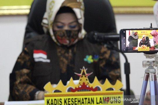 Dinkes catat tingkat kesembuhan pasien COVID-19 di Lampung 75 persen