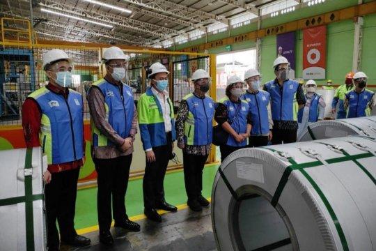 PT GRP ekspor baja ke Kanada senilai Rp69 miliar