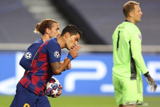 Luis Suarez resmi gabung Atletico Madrid