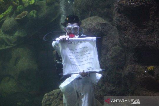 Manajemen Ancol siapkan pengibaran bendera merah putih di dalam air