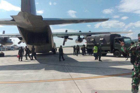 Kejar sisa MIT Poso, 150 anggota TNI gabung di Satgas Tinombala