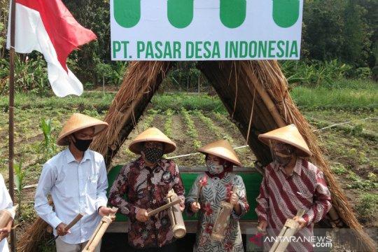 Menteri Desa resmikan Pasar Desa Indonesia berbasis Bumdes di Bantul