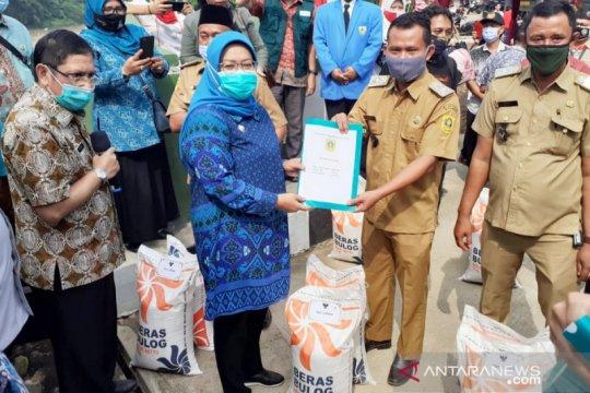 Bansos beras tahap dua di Bogor terdistribusi ke 7 kecamatan