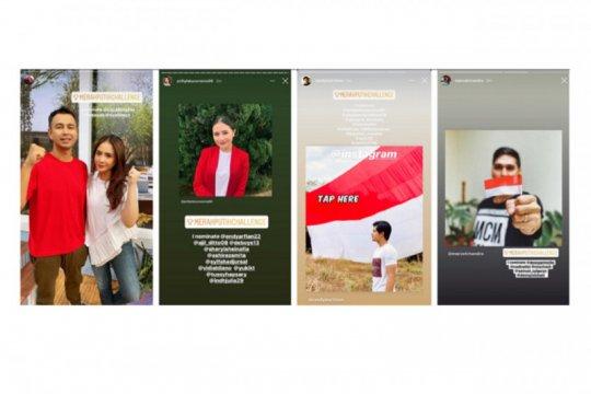 Instagram dan Snapchat semarakkan peringatan HUT ke-75 RI