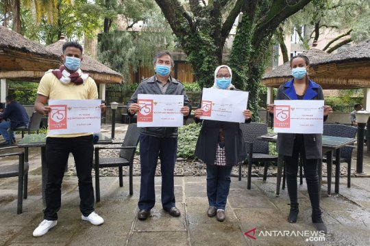 Pandemi COVID-19, KBRI tak undang warga Ethiopia dalam upacara HUT RI