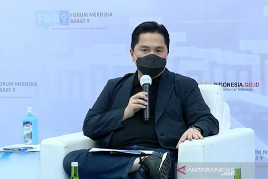 Erick Thohir dorong program digitalisasi rantai pasok logistik