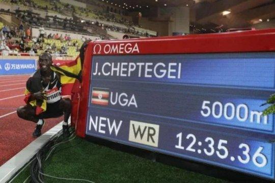 Joshua Cheptegei pecahkan rekor dunia lari di tengah pandemi