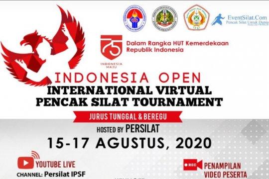 Persilat gelar turnamen pencak silat internasional Indonesia Open