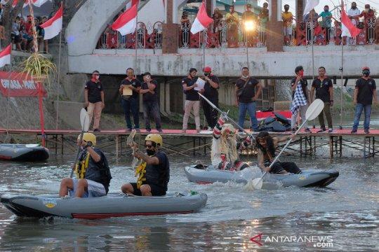 Lomba balap kayak di Bali