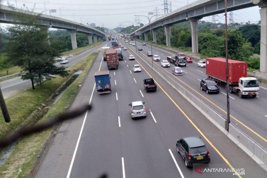 Lalu lintas Tol Jakarta-Cikampek meningkat selama dua hari terakhir