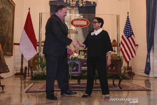Menlu AS Mike Pompeo berkunjung ke Indonesia pekan depan