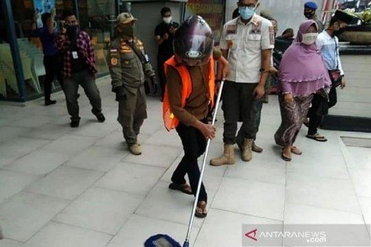 Ini sanksi bagi warga tidak pakai masker di Sukabumi