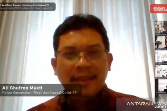 Indonesia hasilkan lima ventilator inovasi dorong kemandirian bangsa
