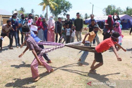 Warga etnis Rohingya ikut meriahkan HUT Kemerdekaan RI