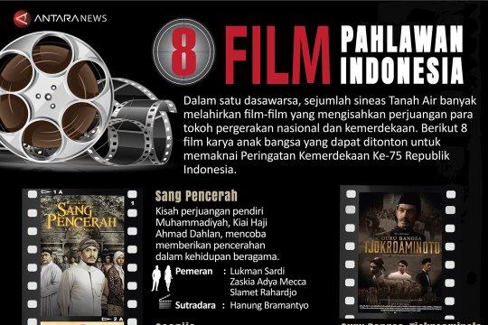Delapan film pahlawan Indonesia