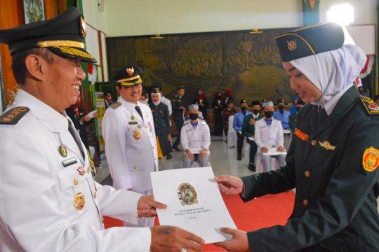 Gagal bertugas, Yogyakarta tetap beri penghargaan ke Paskibraka 2020