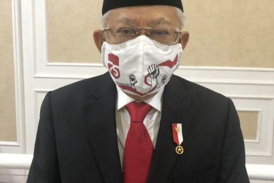 Charlene Junus terharu masker buatannya dipakai Wakil Presiden