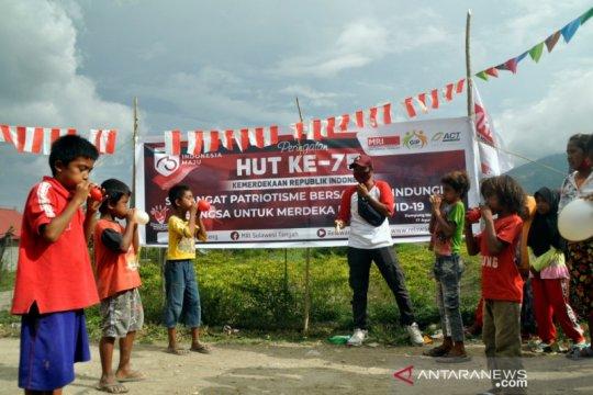 MRI ACT Sulteng gelar peringatan HUT RI di wilayah terpencil Sigi