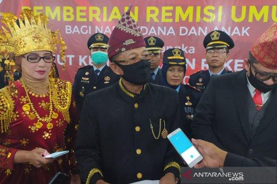 Delapan napi korupsi di Bengkulu dapat potongan masa tahanan