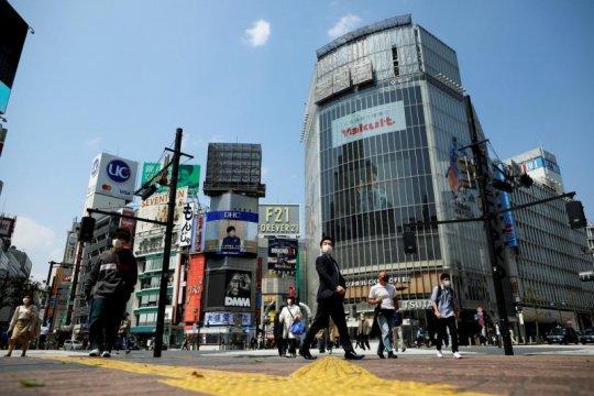 Ekonomi Jepang menyusut pada rekor tercepat, pandemi pukul pengeluaran