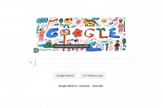Google rayakan 17 Agustus lewat Doodle panjat pinang dan tanjidor