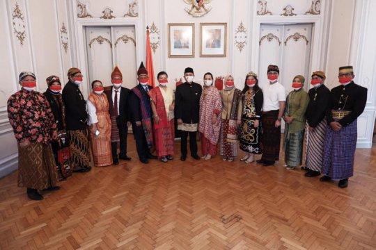 HUT ke-75 RI dirayakan di Hongaria di tengah pandemi COVID-19