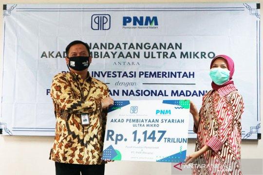 Pusat Investasi Pemerintah salurkan kredit Ultra Mikro Rp1,2 triliun