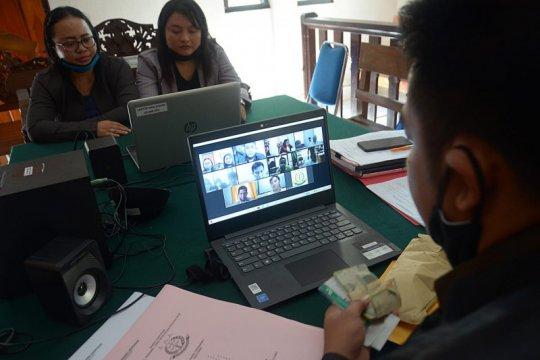 Lima pegawai positif COVID-19, PN Denpasar tiadakan persidangan