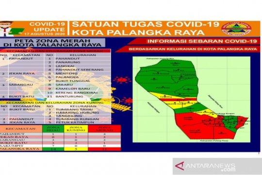 14 kelurahan di Kota Palangka Raya zona hijau COVID-19