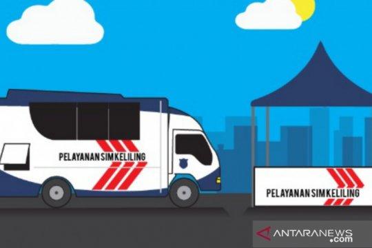 Selasa, layanan SIM Keliling tersedia di lima lokasi Jakarta