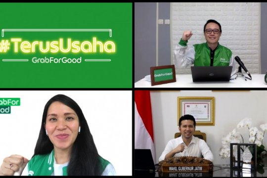 Grab luncurkan program #TerusUsaha di Jawa Timur