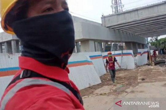 Waskita usir jurnalis di lokasi Jalan Tol Cibitung-Cilincing ambruk