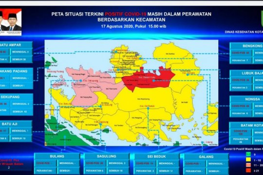 Satu kecamatan di Kota Batam kembali berstatus zona merah