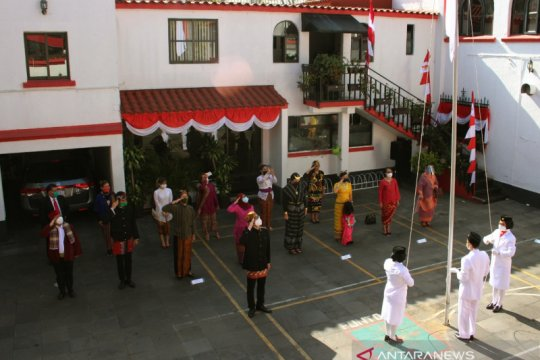 Perayaan HUT ke-75 RI di tengah pandemi di mata diplomat Indonesia