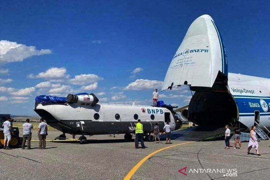 BNPB datangkan dua helikopter bantu penanganan bencana di Tanah Air