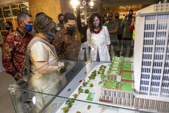 Saat dibuka kembali Agustus 2021, Sarinah pamerkan relief bersejarah