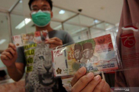 BI tambah kuota penukaran uang kertas Rp75.000 jadi dua kali lipat