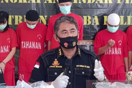 2020, Lima polisi di Jateng ditangkap akibat penyalahgunaan narkotika