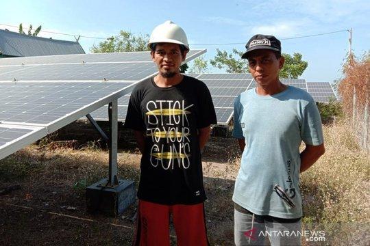 Nikmatnya listrik EBT di Pulau Saugi