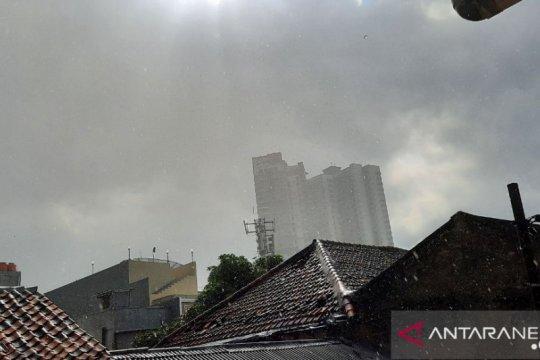 BMKG keluarkan peringatan dini hujan lebat sore ini di Jakarta