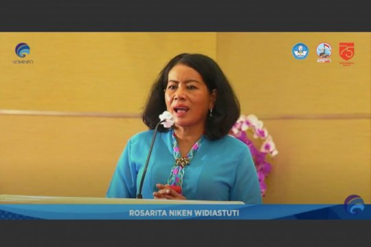 Tetap semangat & optimistis, pesan Sekjen Kominfo untuk anak Indonesia