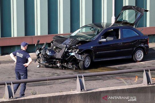 Jerman anggap kecelakaan mobil di Berlin sebagai serangan gerilyawan