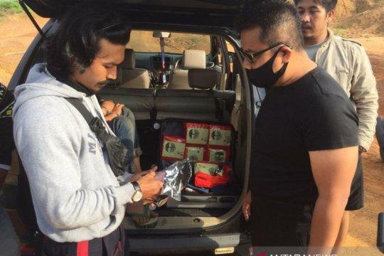 Petugas BNNP Jambi tangkap empat kurir tujuh kilogram sabu