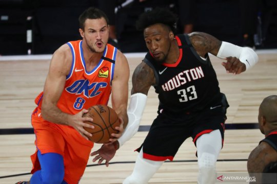 NBA: Oklahoma City Thunder kalahkan Houston Rockets 123 - 108